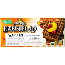 Waffles Ezekiel 4:9 de Cerales Germinados Sin Harina FFL 300 gr.