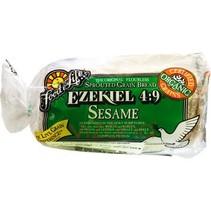 Pan Ezekiel 4:9 Sesame de Cereales Germinados Sin Harina FFL 680 gr.