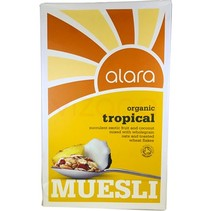 Tropical Muesli Organico Alara 500gr