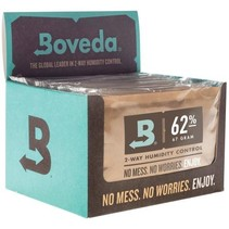 Boveda 67g 2-Way Humidity 62% (12/Pack) - SAIU