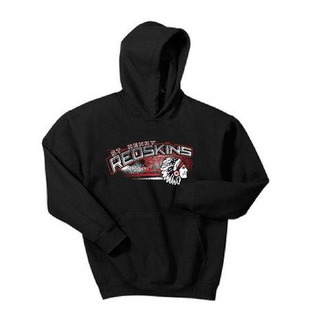 Gildan H203 Hooded Sweatshirt - Black