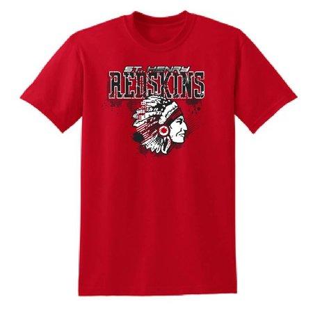 Gildan H208 - 50/50 Poly Cotton T-shirt - Red