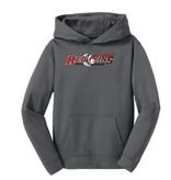 Sport Tek H215 - Youth Hooded Sweatshirt - Grey