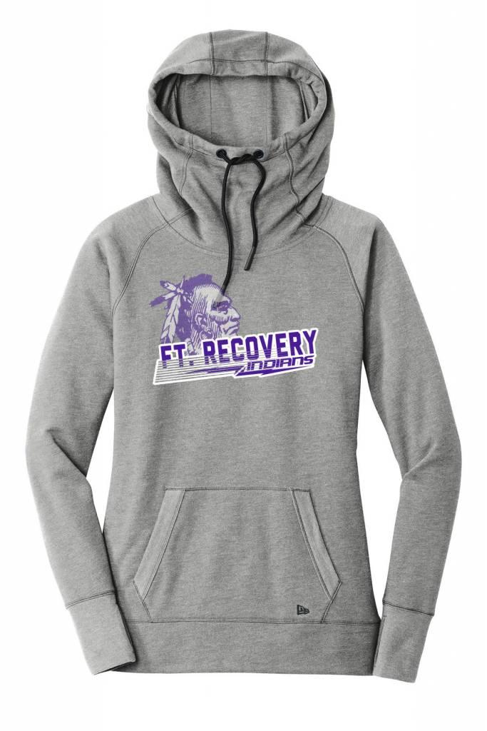New Era F121 - Ladies Tri Blend Fleece Hood