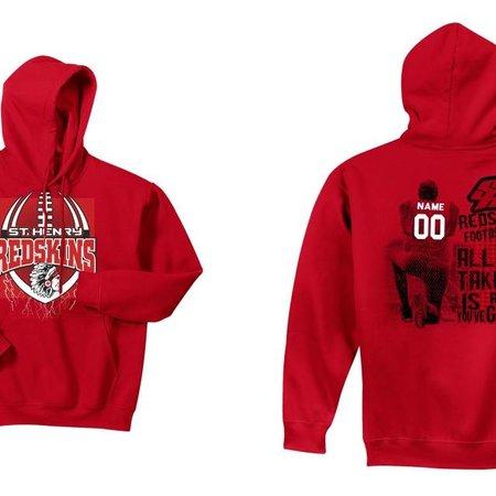 Gildan H271 - Gildan 50/50 Hooded Sweatshirt