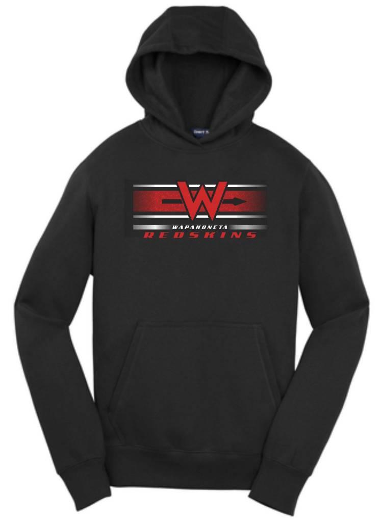 New Era W302 - YST254  Youth Hooded Sweatshirt -