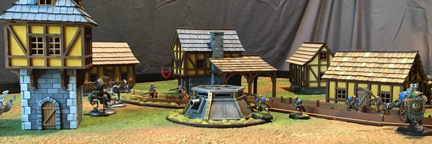 Warmachine Terrain
