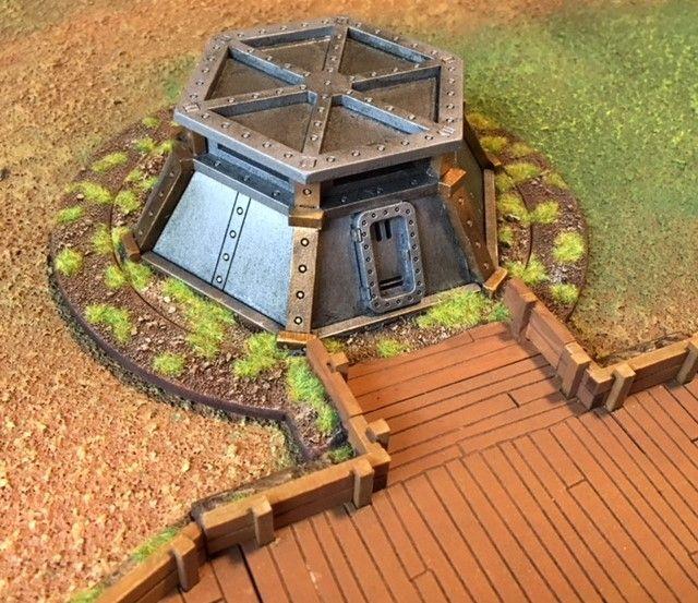 GG GG Trench Bunker