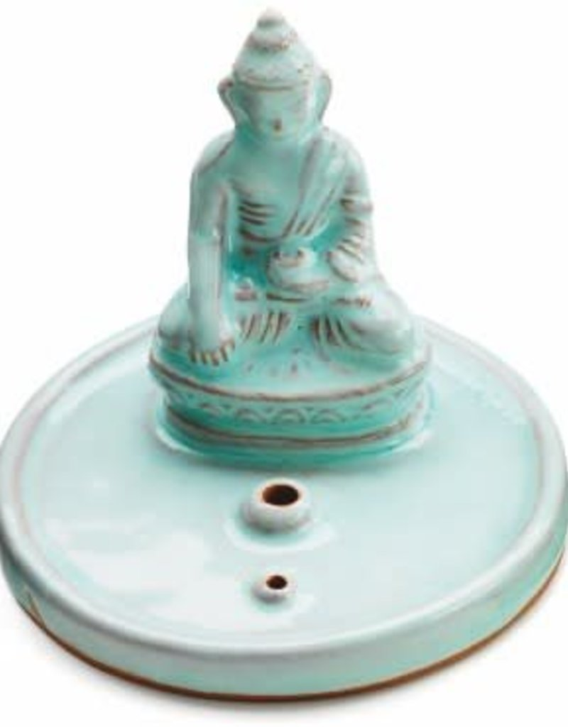 Incense Burner Buddha Ceramic