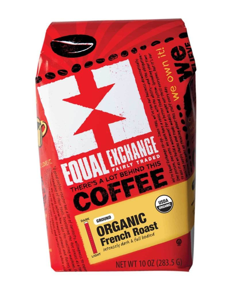 French Roast Coffee Organic Whole Beans