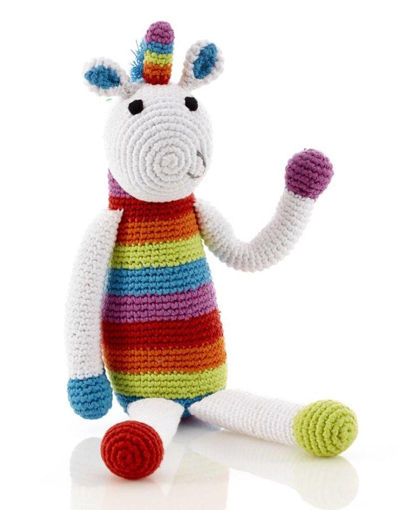 Rainbow Unicorn Rattle