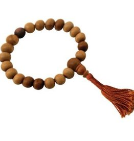 Kadam Wood Mala Bracelet