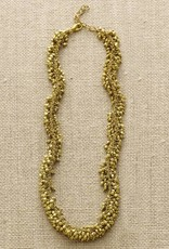 Gold Cluster Necklace