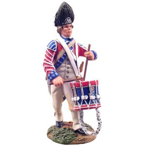 W. Britain 18022 - W. Britain British Royal Irish Drummer No. 1