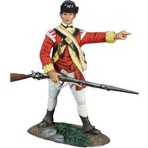 W. Britain 18042 - W. Britain British 10th Light Foot Infantry NCO No. 1