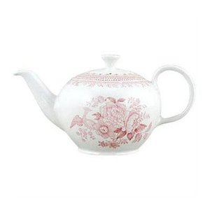 Burleigh Pottery Asiatic Pheasants Pink 3-4 Cup Teapot