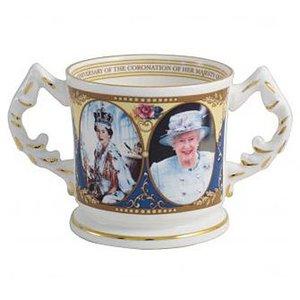 Aynsley China Aynsley Coronation Loving Cup
