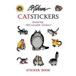 B. Kliban CatStickers Sticker Book
