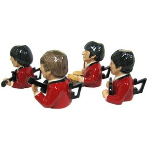 Bairstow Manor Legends of Rock Busts Set - Red