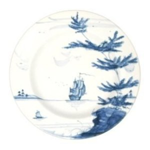 Isis Ceramics Isis Blue Nautical The Bountiful Dinner Plate
