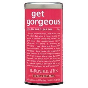 Republic of Tea Get Gorgeous Herbal Tea