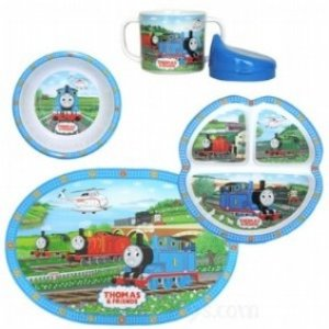 Thomas the Tank Engine Thomas 5 Piece Dinner Set