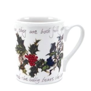 Portmeirion Holly & Ivy Breakfast Mug 9oz