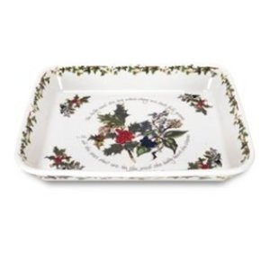 Portmeirion Holly & Ivy Lasagna Dish