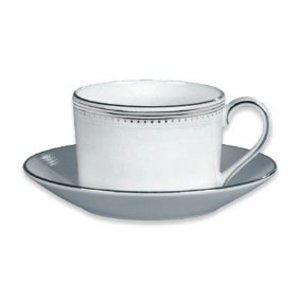 Wedgwood Grosgrain Teacup and Saucer