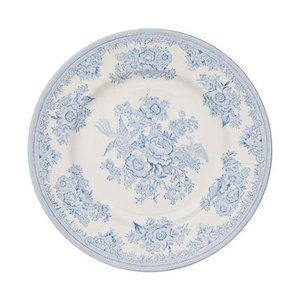 Burleigh Pottery Asiatic Pheasants Blue 9 in. Plate