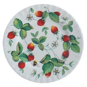 Roy Kirkham Alpine Strawberry Tea plate