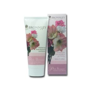 Bronnley Bronnley Pink Bouquet Hand and Nail Cream
