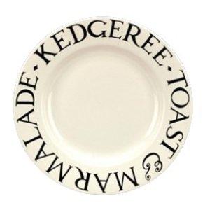 Emma Bridgewater Bridgewater Black Toast 8.5'' Plate