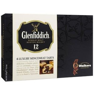 Walker's Shortbread Co. Walkers Glenfiddich 6 Luxury Mincemeat Tarts