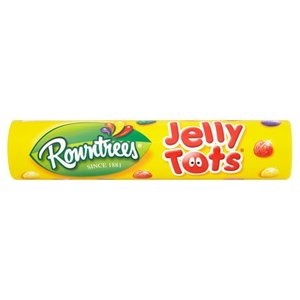 Rowntree's Rowntrees Jelly Tots Tube