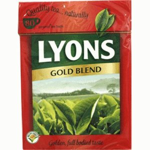 Lyons Gold Blend 80s