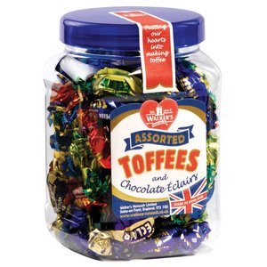 Walkers Nonsuch Walkers Nonsuch Assorted Toffees Jar