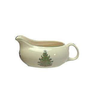 Cuthbertson Christmas Tree Sauceboat and Stand