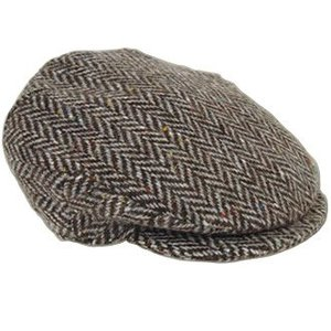 Hanna Hats Hanna Hats Grey Tweed Cap