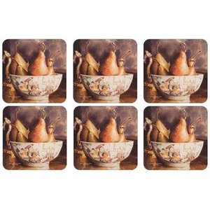 Pimpernel Pimpernel Pears Coasters