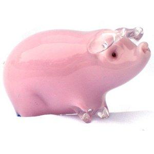 Langham Glass Langham Glass Pig Standing - Small