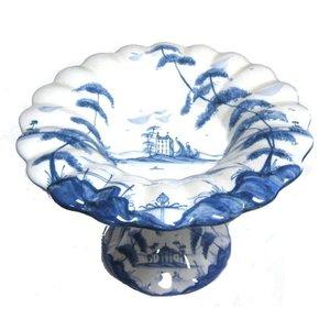 Isis Ceramics Isis Blue Palladian Tea Cake Stand