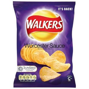 Walker's Walkers Worcester Sauce Crisps
