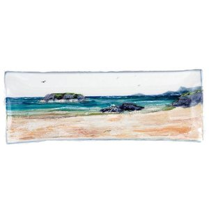 Highland Stoneware Highland Stoneware Seascape Long Rectangle