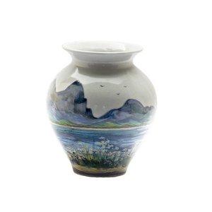 Highland Stoneware Highland Stoneware Landscape Small Blossom Vase