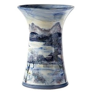 Highland Stoneware Highland Stoneware Frosty Morning Small Cylinder Vase