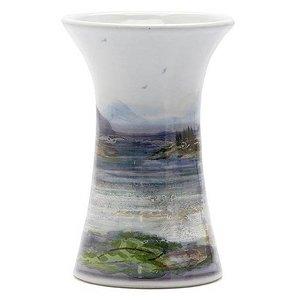 Highland Stoneware Highland Stoneware Landscape Small Cylinder Vase