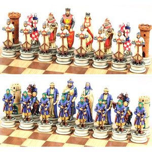 Fame Themed Chess Pieces - Crusades