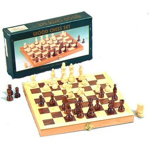 "Fame 11"" Folding Chess Set"