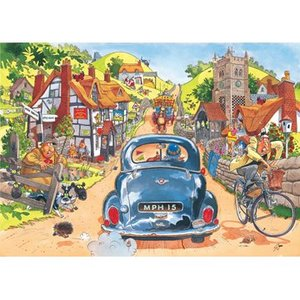 Ravensburger Wasgij? Puzzle - Sunday Drive